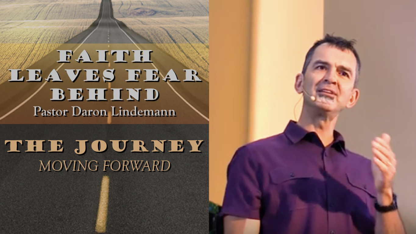 FAITH IN JESUS LEAVES FEAR BEHIND