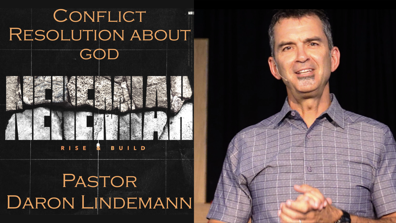 CONFLICT RESOLUTION ABOUT GOD